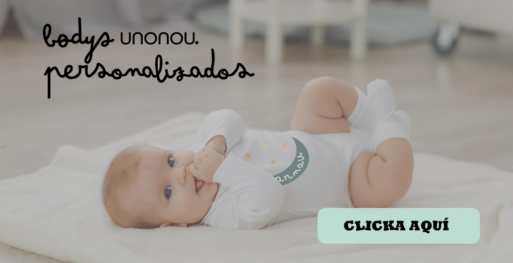 Bodies de bebé personalizados